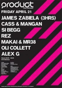 Cass & Mangan James Zabiela Product London Records