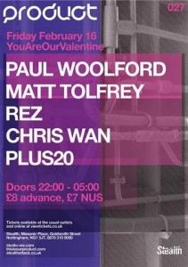 Matt Tolfrey Paul Woolford Product London Records