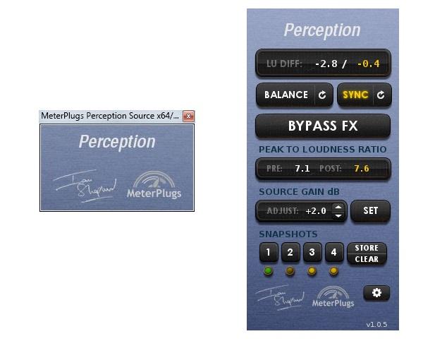 MeterPlugs Perception