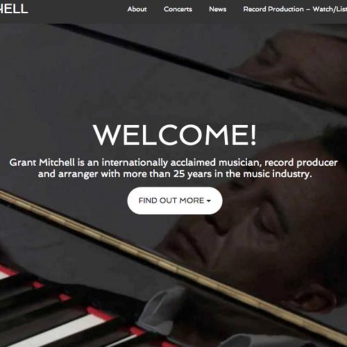 Website Design for Musicians | Product London